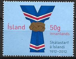 Islande 2012, N°1286 Neuf Centenaire Du Scoutisme - 1944-... Republic