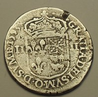 1593 - France - QUART D'ECU De BEARN, HENRI IV, Morlaas, Argent, Silver, Dy 1240 - 987-1789 Geld Van Koningen