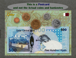Qatar Circulating Coins And Currency 2013 (Monnaies Et Billets), Katar - Coins (pictures)