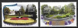 Islande 2012, N°1283/1284 Neufs Jardins Publics - 1944-... Republic