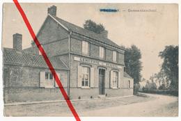 PostCard - Werken Wercken Kortemark - Gemeenteschool - 1916 - Kortemark