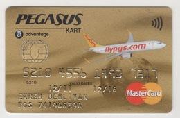 TURQUIE,TURKEI TURKEY PEGASUS AIRLINES CARD USED - Other