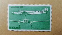 France N° PA 60 ** Poste Aérienne - Trimoteur Dewoitine 338 - Poste Aérienne