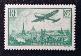 France Poste Aérienne  - 85ct Vert - Poste Aérienne