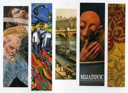 5 Marque-page Thème Art - Peinture, Sculpture, De Vlaminck, Canella, Mijatovic... - Bookmarks