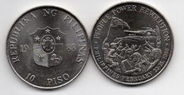 Philippines - 10 Piso 1988 AUNC- Lemberg-Zp - Filippine