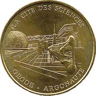 75019 PARIS CITÉ DES SCIENCES GEODE ARGONAUTE MÉDAILLE MONNAIE DE PARIS JETON MEDALS TOKEN COINS - Monnaie De Paris