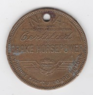 EVINRUDE & ELTO OUTBOARD MOTOR BRASS TOKEN - Professionals/Firms