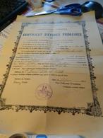 CERTIFICAT D'ETUDES PRIMAIRES 1934 ACADEMIE DE BORDEAUX DEPARTEMENT DU LOT ET GARONNE - Diplomi E Pagelle