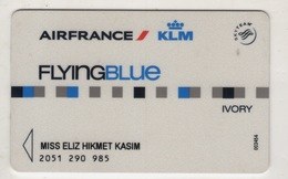 AIRFRANCE / KLM  FLYINGBLUE CARD USED - Other