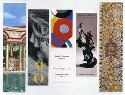 5 Marque-page Thème Art - Peinture, Sculpture, Gravure, Illustration, Delaunay... - Bookmarks