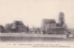 COURVILLE L'EGLISE ET LE CHATEAU (dil385) - Sonstige Gemeinden