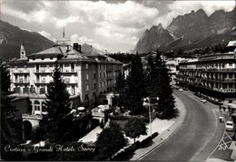 ! Moderne Ansichtskarte Cortina Hotel Savoy - Belluno