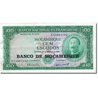 Billet, Mozambique, 100 Escudos, 1976, 1961-03-27, KM:117a, TTB - Mozambique