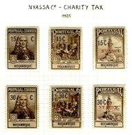 NYASSA Cº, Postal Tax, PB 1/6, * MLH, F/VF, Cat. €105 - Fiscaux