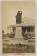 Cabinet 1870-80 Ernest Oblin à Saint-Malo . La Statue De Châteaubriand . - Anciennes (Av. 1900)