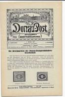 """DONAU-POST  """"DIE BRIEFMARKEN DER DONAU- DAMPFSCHIFFAHRTSGESELLSCHAFT  1925 - Posta Marittima E Storia Marittima"""