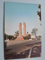 Monument à Albert 1er Léopoldville (Concre) Anno 1970 ( Voir Photo ) ! - Kinshasa - Léopoldville