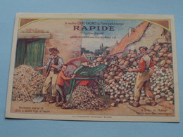 """Le Meilleur COUPE-RACINES Du Monde """" RAPIDE """" EXPO Anvers & Liège 1930 Médaille D'Or () Anno 19?? ( Voir Photo ) ! - Advertising"""