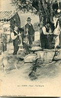 Corse Types Une Bergere Collection Damiani Circulee En 1913 RARE - France
