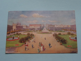 MONTEVIDEO Plaza De La INDEPENDENCIA ( Tuck / Oilette - 8905 ) Anno 1914 ( See Photo ) ! - Uruguay