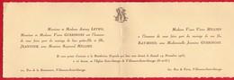 -- VILLENEUVE SAINT GEORGES - MARIAGE DE RAYMOND MILLIEN Et DE JEANNINE GUERINONI -- - Mariage
