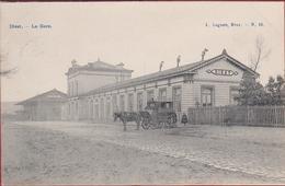 Diest La Gare Het Station Statie Paard En Koets Geanimeerd 1907 (In Zeer Goede Staat) - Diest