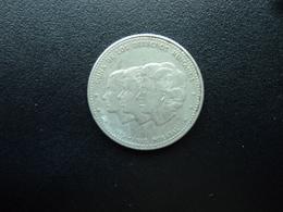 RÉPUBLIQUE DOMINICAINE : 25 CENTAVOS   1986   KM 61.2      TTB+  (SUP 55) - Dominicaine