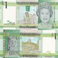 Jersey - 1 Pound 2010 UNC Ukr-OP - Jersey