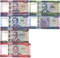 Liberia - Set 6 Banknotes 5 10 20 50 100 500 Dollars 2016 - 2017 (5$ - 2016) UNC Ukr-OP - Liberia