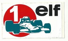 Sticker - ELF - 1 - Race Auto - Pegatinas