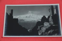 Taormina Messina Veduta Verso L'Etna Foto Licari NV - Non Classés