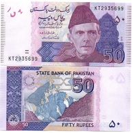 Pakistan - 50 Rupees 2018 UNC Ukr-OP - Pakistan
