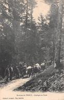 88 - Environs De Tholy - Attelages Animés En Forêt - Autres Communes