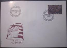 Enveloppe Suisse - 1981 - Icare - Brieven En Documenten