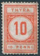 Russia Finland 1884 Paddle-steamer S/s THYRA Steamship Co. 10 Penni Local Ship Mail Private Post Schiffspost Privatpost - Ships