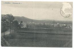 RARE CPA CHATILLON, PANORAMA, ST SAINT LEGER, PROVINCE DE LUXEMBOURG, BELGIQUE - Saint-Léger