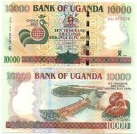 Uganda - 10000 Shillings 2007 UNC Ukr-OP - Uganda