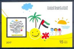 H128- United Arab Emirates 2017 National Program For Happiness. - United Arab Emirates