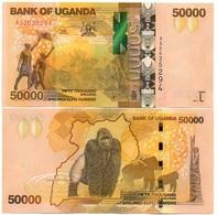 Uganda - 50000 Shillings 2017 UNC Ukr-OP - Uganda