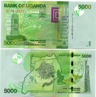Uganda - 5000 Shillings 2017 UNC Ukr-OP - Uganda