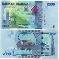 Uganda - 2000 Shillings 2017 UNC Ukr-OP - Uganda