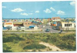 CP MALO LES BAINS, LE TERRAIN DE CAMPING, AUTO VOITURE CITROEN DS, NORD 59 - Malo Les Bains