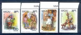 H134- Macau Macao China 1990. Typical Occupations. Ship.H135- Macau Macao China 1990. Typical Occupations. - 1999-... Chinese Admnistrative Region