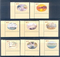 H136- Macau 1995 Paintings Of Macau By Lio Man Cheong. - 1999-... Chinese Admnistrative Region