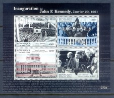 H144- Togolaise Togo 2008. JFK Kennedy Miniature Sheet. - Togo (1960-...)