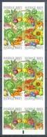 H152- Sweden Sverige 2003 Fruits & Vegetables. Self-Adhesive Stamps Booklet. - Food