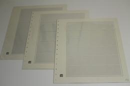 SAFE, 6 Blankoblätter ( 3 X 6 Streifen, 2 X 5 Streifen, 1 X 3 Streifen) - Albums & Bindwerk