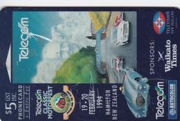 New Zealand, NZ-E-009, Telecom Classic Motorfest, Cars, 2 Scans. - New Zealand