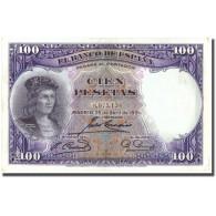 Billet, Espagne, 100 Pesetas, 1931, 1931-04-25, KM:83, TTB+ - [ 2] 1931-1936 : Republiek